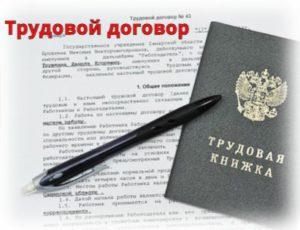 Составить трудовой договор